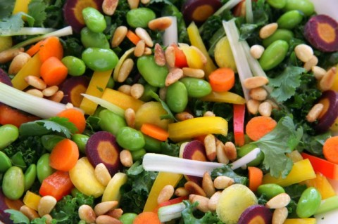 chopped-thai-kale-salad-closeup-on-shockinglydelicious-com