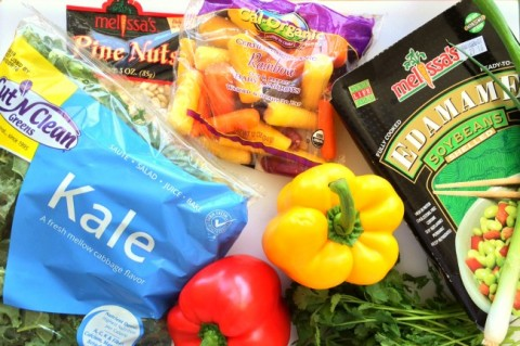 ingredients-for-chopped-thai-kale-salad