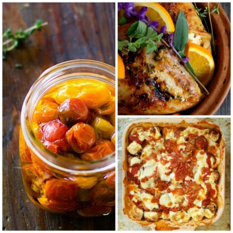 Recipe Crushes -- 3 great recipes from food bloggers around the web for September 2016. Are you cooking from the web like I am? I've made each of these multiple times and highly recommend them.