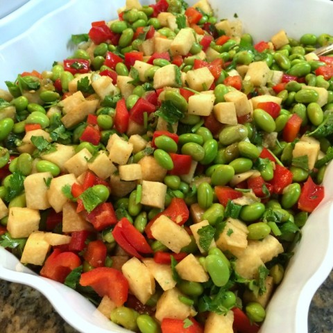 soy-ginger-edamame-salad-from-katie-chins-everyday-chinese-cookbook-on-shockinglydelicious-com