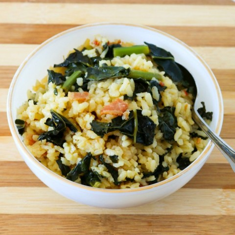 kale-and-bacon-baked-risotto-from-black-girl-chefs-whites