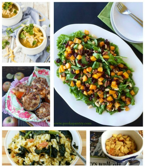 Recipe Crushes -- 7 great recipes from food bloggers around the web for November 2016. Are you cooking from the web like I am? I've made each of these multiple times and highly recommend them.