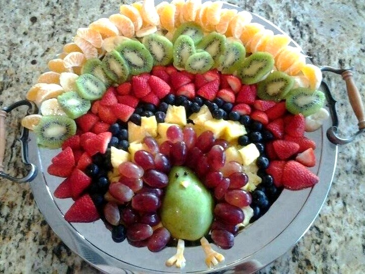 turkey-fruit-plate-by-steve-dembo