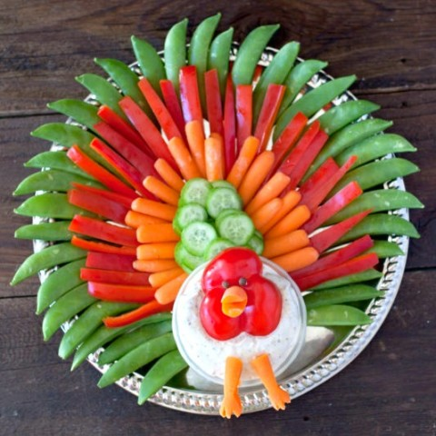 turkey-veggie-platter-from-eating-richly-even-when-youre-broke