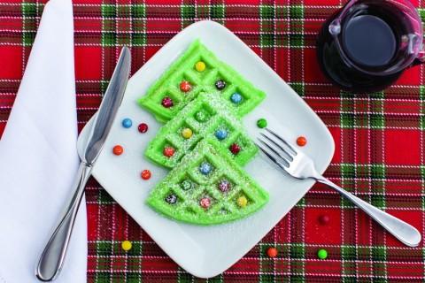 christmas-tree-waffles