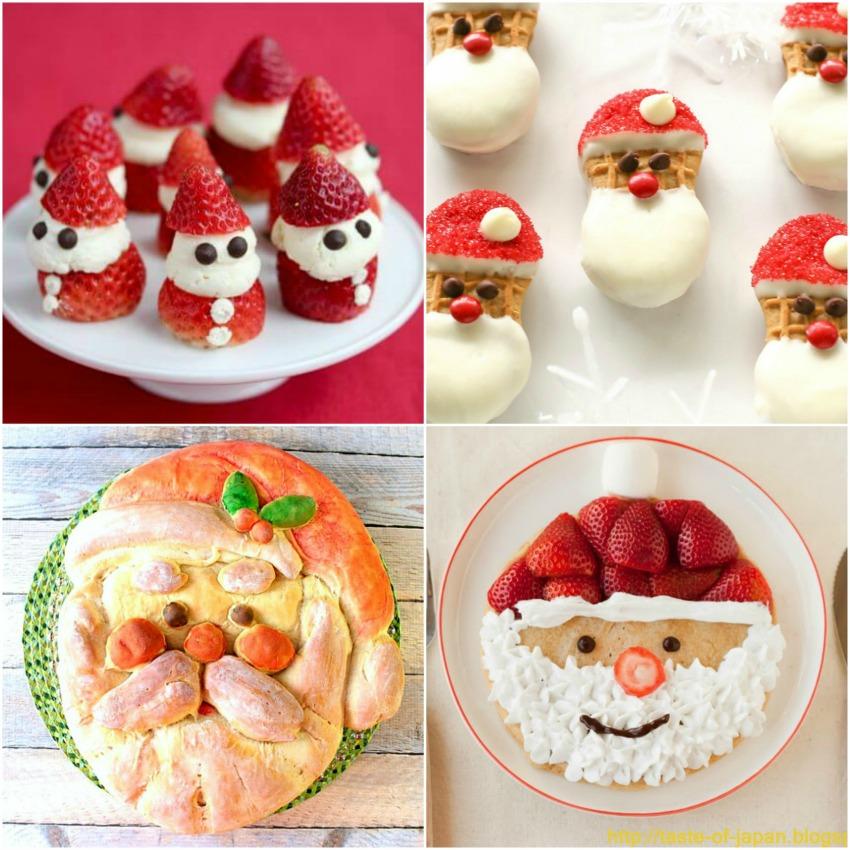 santa-shaped-food 4 photos