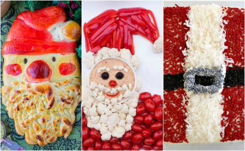 There's always room for a splendid Santa at the table anytime during December, whether for breakfast, lunch, appetizer or dessert!