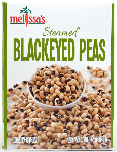 Steamed Black-Eyed Peas package front