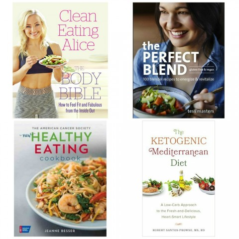 4 new cookbooks give guidance, inspiration and nutritional education for a new year of healthy eating.