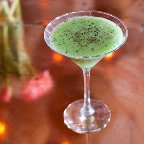 Avocado Martini from Seaspice Restaurant on ShockinglyDelicious.com