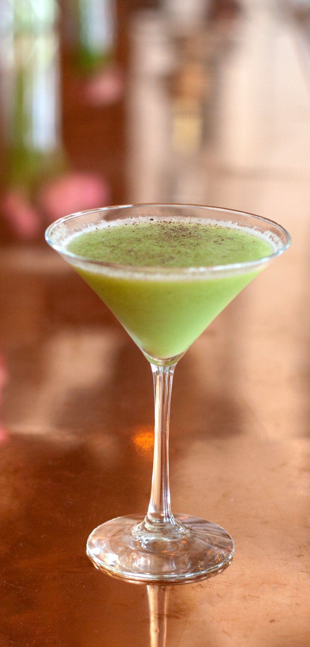 Avocado Martini recipe on ShockinglyDelicious.com