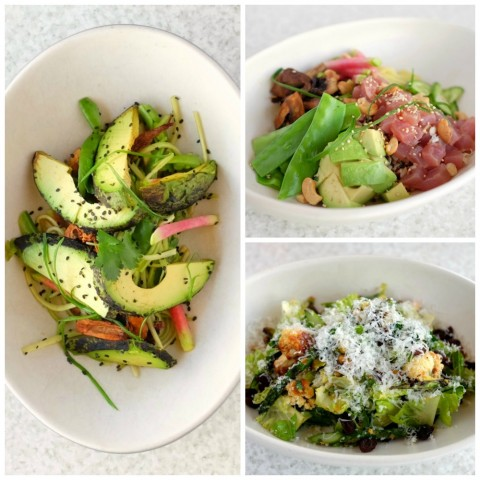 Spring has sprung at True Food Kitchen, with new seasonal menu items, and I wanted to dive head-first into several of them: Poke Bowl, Torched Avocado, Artichoke Pizza, Pan Roasted Chicken, Spring Vegetable Salad, Coconut Flan.