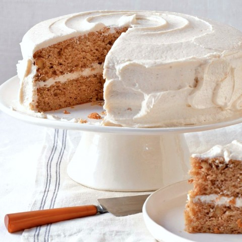 Parsnip-Ginger Layer Cake by Cara Mangini from The Vegetable Butcher