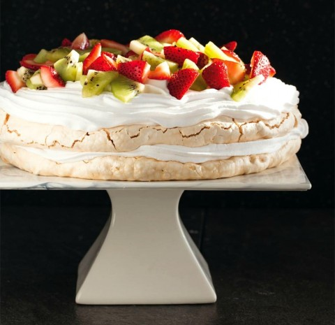 Pavlova from Perfect for Pesach new cookbook