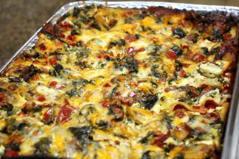 Potato Lasagna by Raghaven Iyer