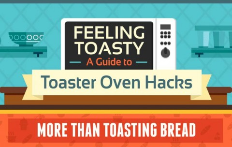 There are lots of things you can do in your toaster oven to make your cooking life faster and easier! Check out these Toaster Oven Hacks and 5 easy toaster oven recipes.