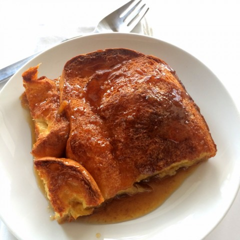 Sweet, buttery Baked Creme Brulee French Toast is a decadent, spectacular breakfast and the best version you'll likely ever have.