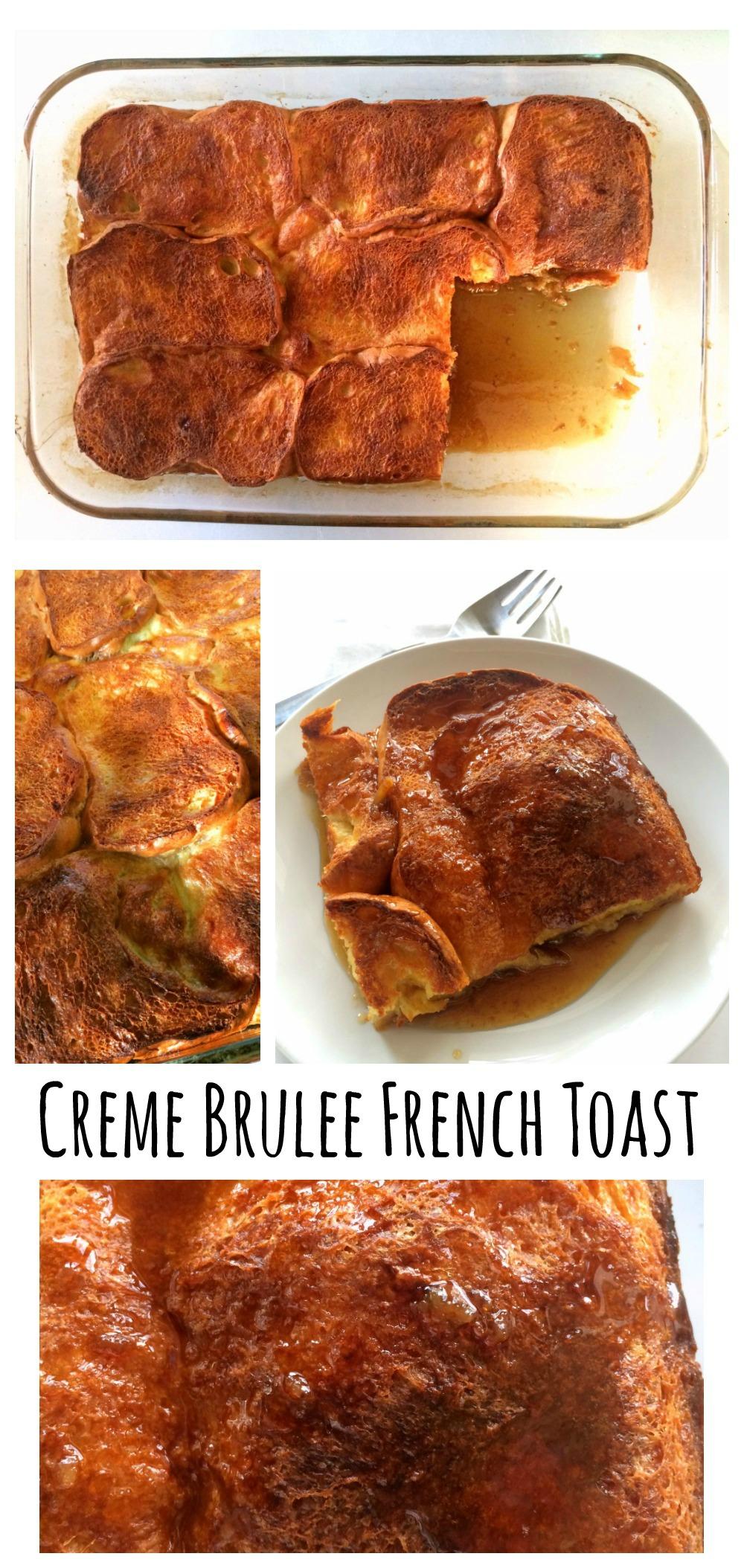 Creme Brulee French Toast on ShockinglyDelicious.com