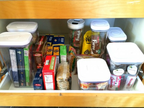 More organized dry goods pantry from ShockinglyDelicious