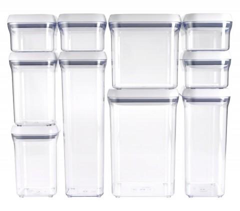 OXO 10-Piece POP Container Set