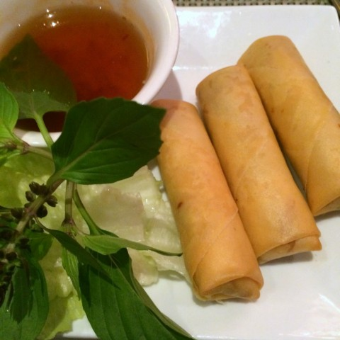 Eggrolls at Au Lac Restaurant in Downtown L.A. on ShockinglyDelicious.com