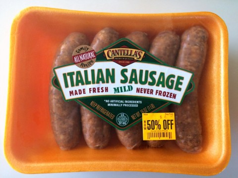 Italian Sausage on ShockinglyDelicious.com