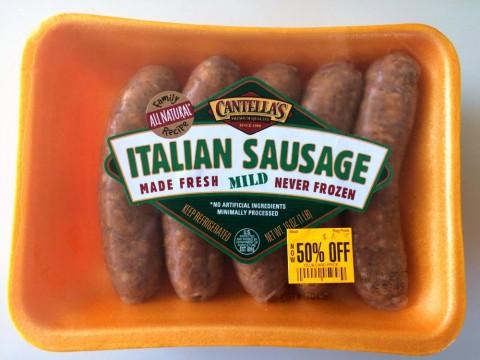 Italian Sausage on ShockinglyDelicious.com