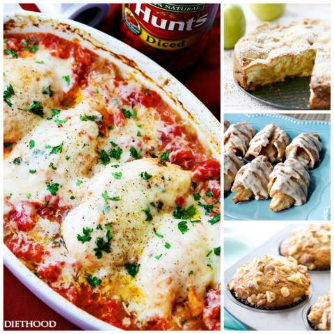 Recipe Crushes -- great recipes from food bloggers around the web for June 2017. Are you cooking from the web like I am? I've made each of these and highly recommend them.