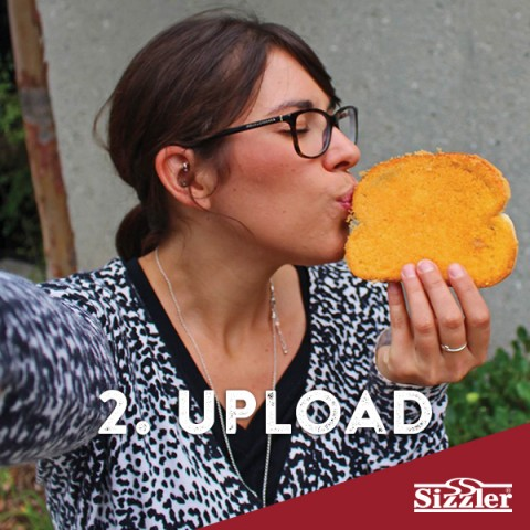 SizzlerCheeseToast selfie contest.com