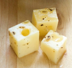 French-Style Marinated Cheese Cubes