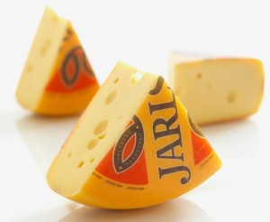 Jarlsberg Cheese wedges