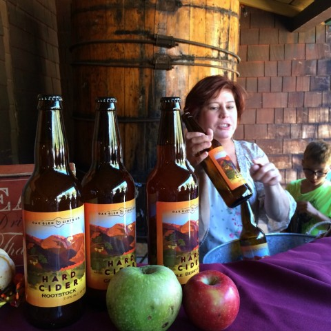 Oak Glen Cider Co tasting