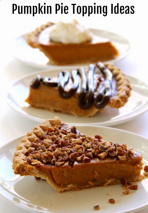 Pumpkin Pie Topping Ideas on Shockingly Delicious