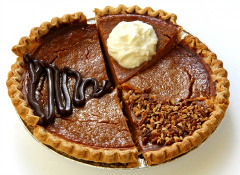 3 easy ways to top pumpkin pie, which is the perfect dessert for ANY  fall meal. You don't have to wait for Thanksgiving.
