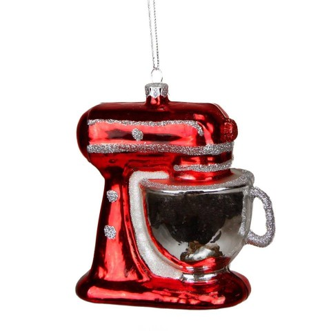 Stand Mixer Ornament on Shockingly Delicious