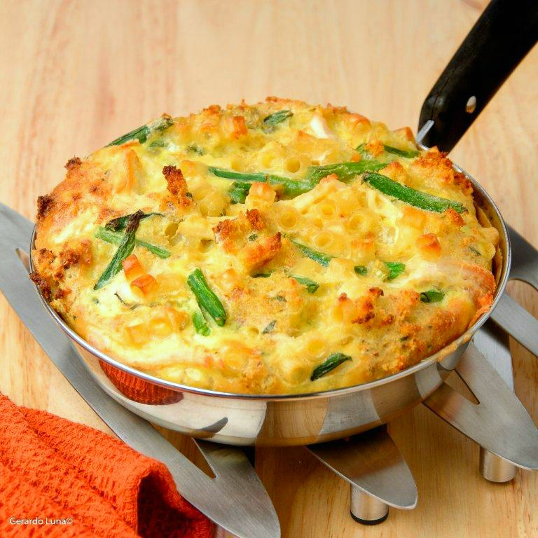 Thanksgiving Leftovers Frittata easy dinner in a skillet