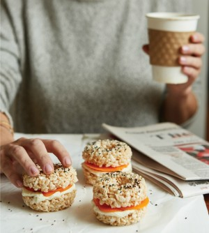 Bagels and Lox from Treat Yourself cookbook