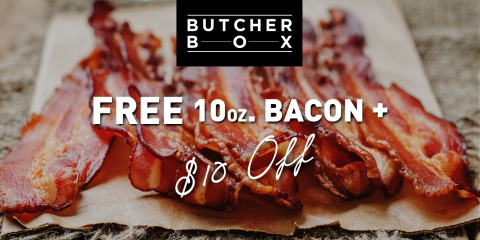 ButcherBox Free Bacon Offer