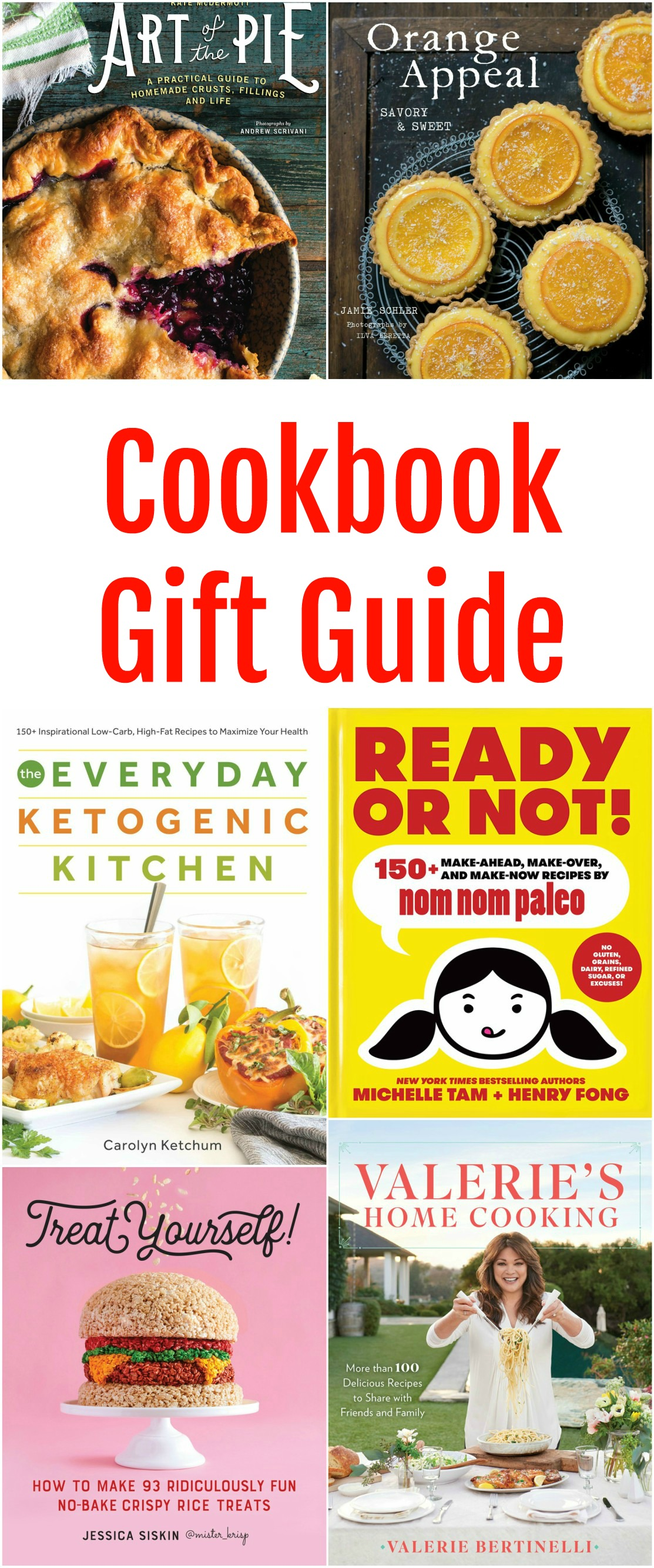 Cookbook Gift Guide for the Holidays on Shockingly Delicious