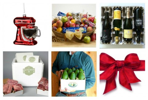 Affordable gifts for foodies this holiday season, from a specialty fruit and snacks basket to wine, meat, avocados and a tree ornament. There's something here for all the foodies on your list.