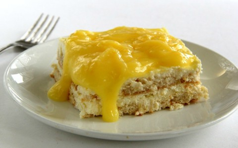 Lemon Icebox Cake: Actress Valerie Bertinelli shares her recipe for this creamy, tangy, lemony comfort dessert with no baking involved. Just layer, refrigerate and voila!
