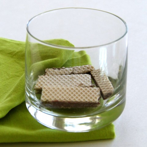 Start with Loacker wafers for Cookies and Cream Parfait