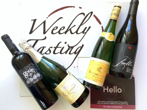 Weekly Tasting wine delivery