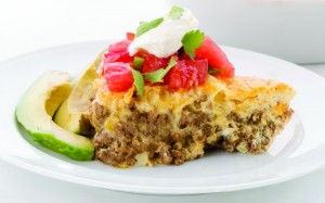 Easy Taco Pie recipe keto gluten-free
