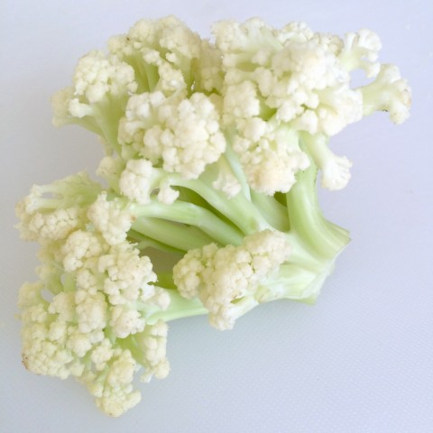 FLowering Cauliflower Florets on ShockinglyDelicious.com