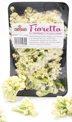 Fioretto Flowering Cauliflower package from Melissa's Produce