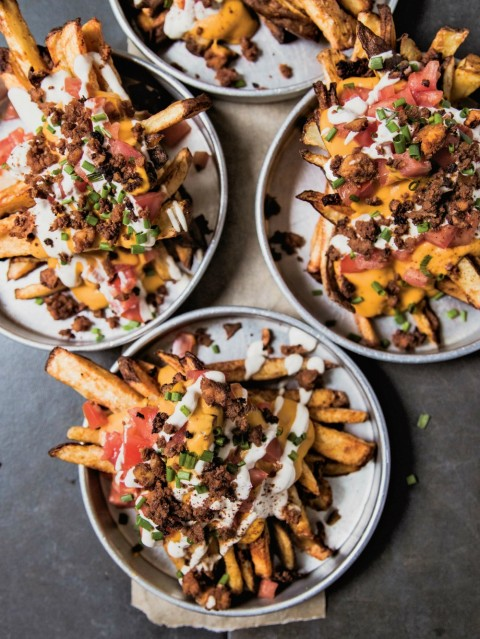 Loaded Fries Supreme from Hote For Food Vegan Comfort Classics