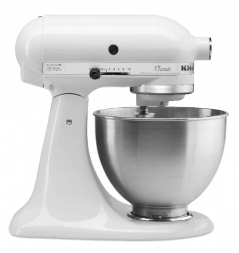 We're giving away a KitchenAid Stand mixer! Simple entry -- just follow me on Instagram, using the Rafflecopter widget on the blog.