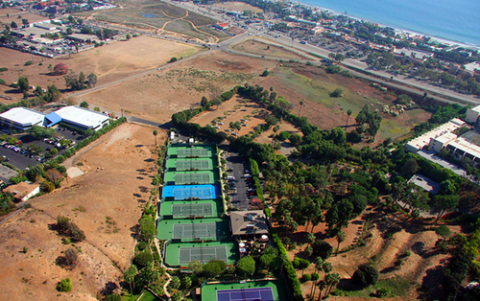Aerial view of The Malibu Racquet Club