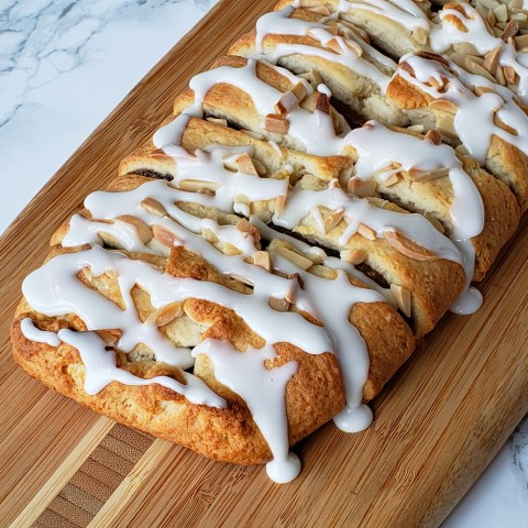 Easy Cream Cheese Pastry with Almond Filling